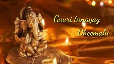 Nice Ganesha Shloka Status Song