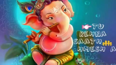 O My Friend Ganesha Cute Baby