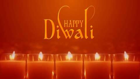 Joyful Wish You Happy Diwali