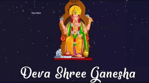 Most Lovely Deva Shree Ganesha Status