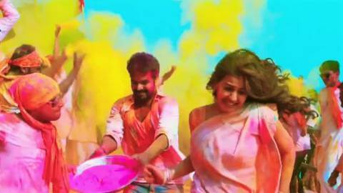 Colorful Happy Holi Wishes