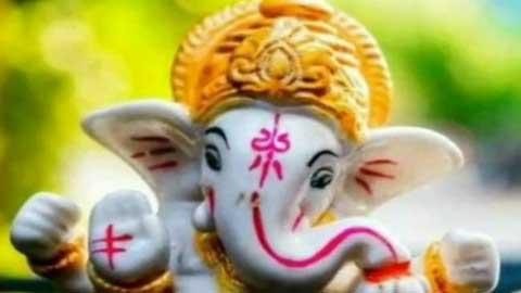 Ganesha Good Morning Full Screen