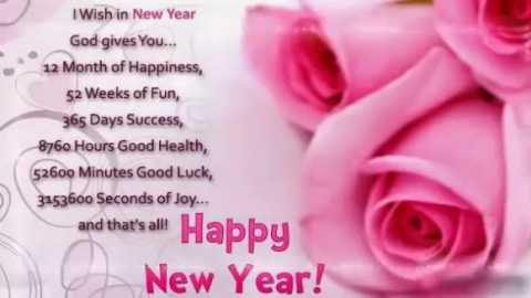 Happy New Year Status Beautiful Wishes New Year Greetings