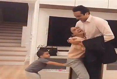 Cute Romantic Family Full Screen Status Video
