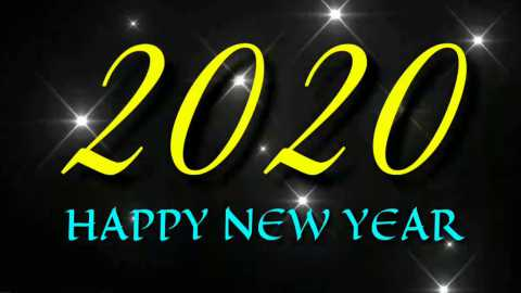 Simple And Sweet Happy New Year