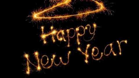 Happy New Year Video Status Fireworks