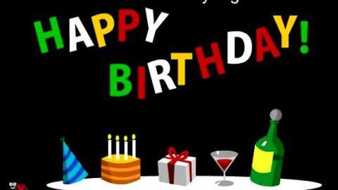 Happy Birthday Dancing Disco Wishing Video Song