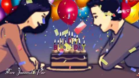 Happy Birthday Status For Girlfriend Yahi Dua Ae Hai Beautiful Song
