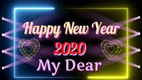 Love Romantic Happy New Year Status Video In Hindi Message