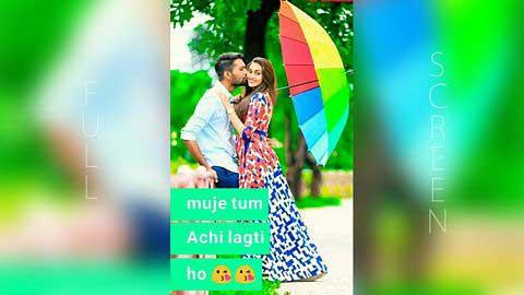 Muje Tum Achi Lagti Ho Nice Status For Whatsapp In Hindi