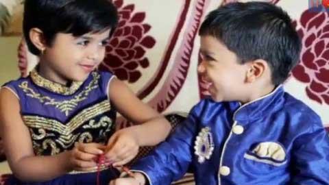 Happy Raksha Bandhan Wishes Video