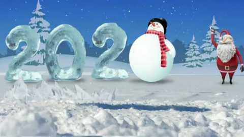 Happy New Year Wishes Merry Christmas Santa Status