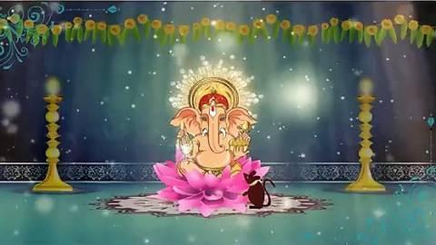 Ganesha Wishes Card